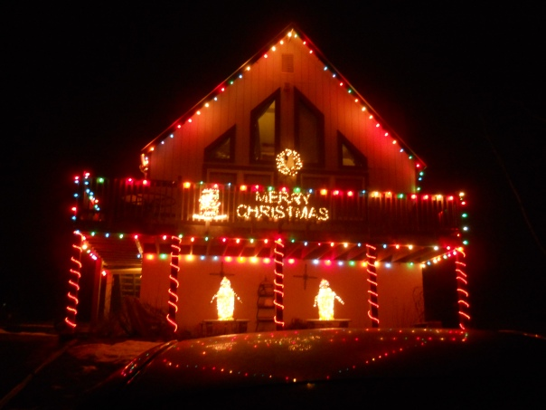 Looks good, doesn't it?  But don't worry, it's Lola's house, so it's not eligible to win.