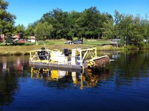 Bog Removal Boat